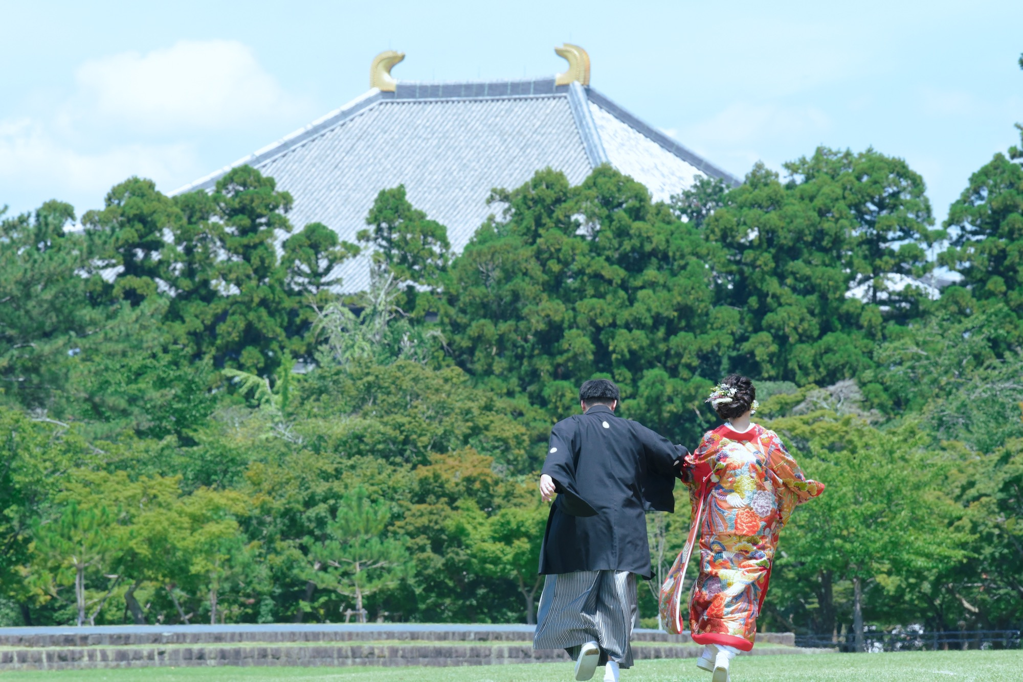 結婚式の和装前撮り撮影