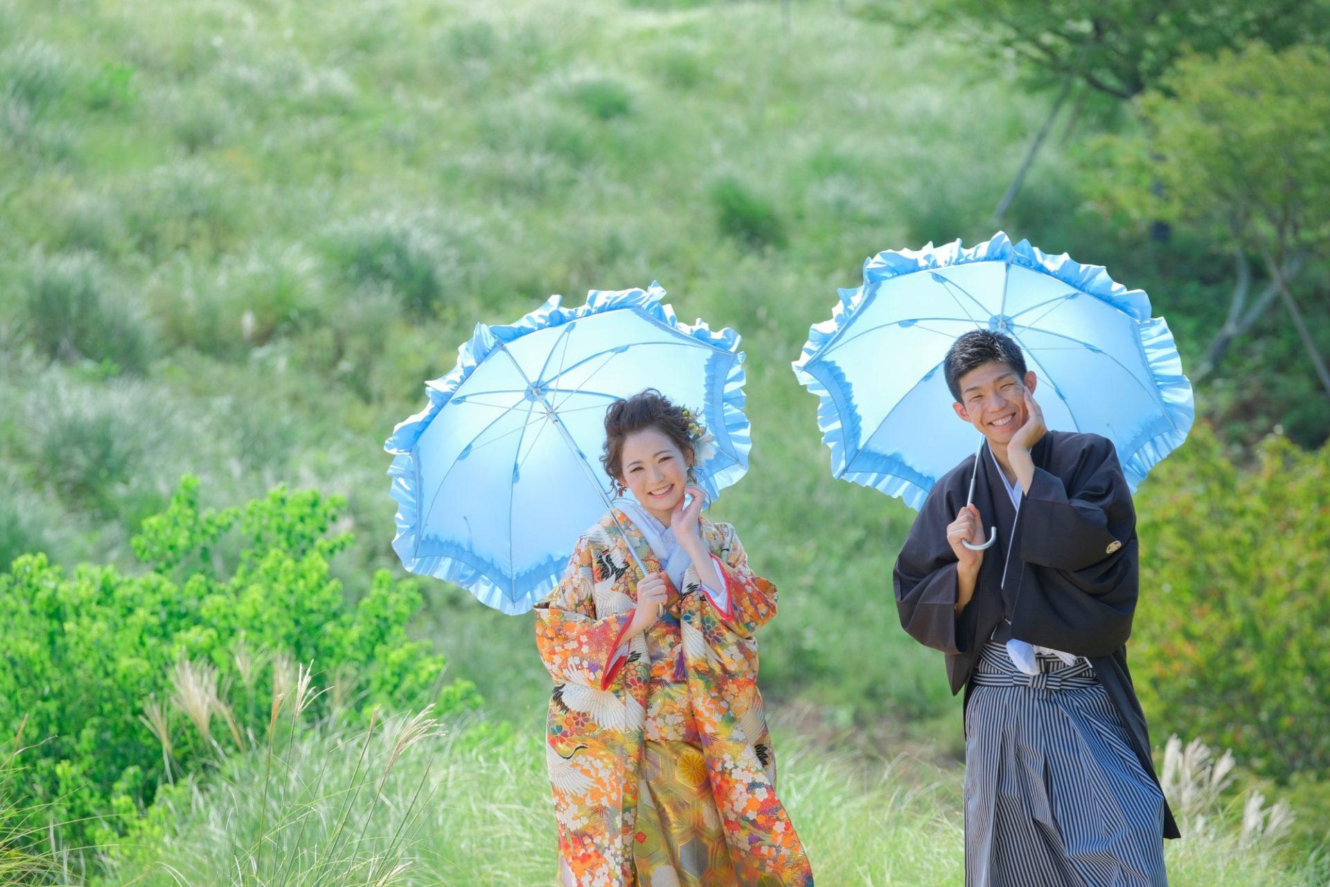 愛知から結婚式の前撮りロケーション写真撮影