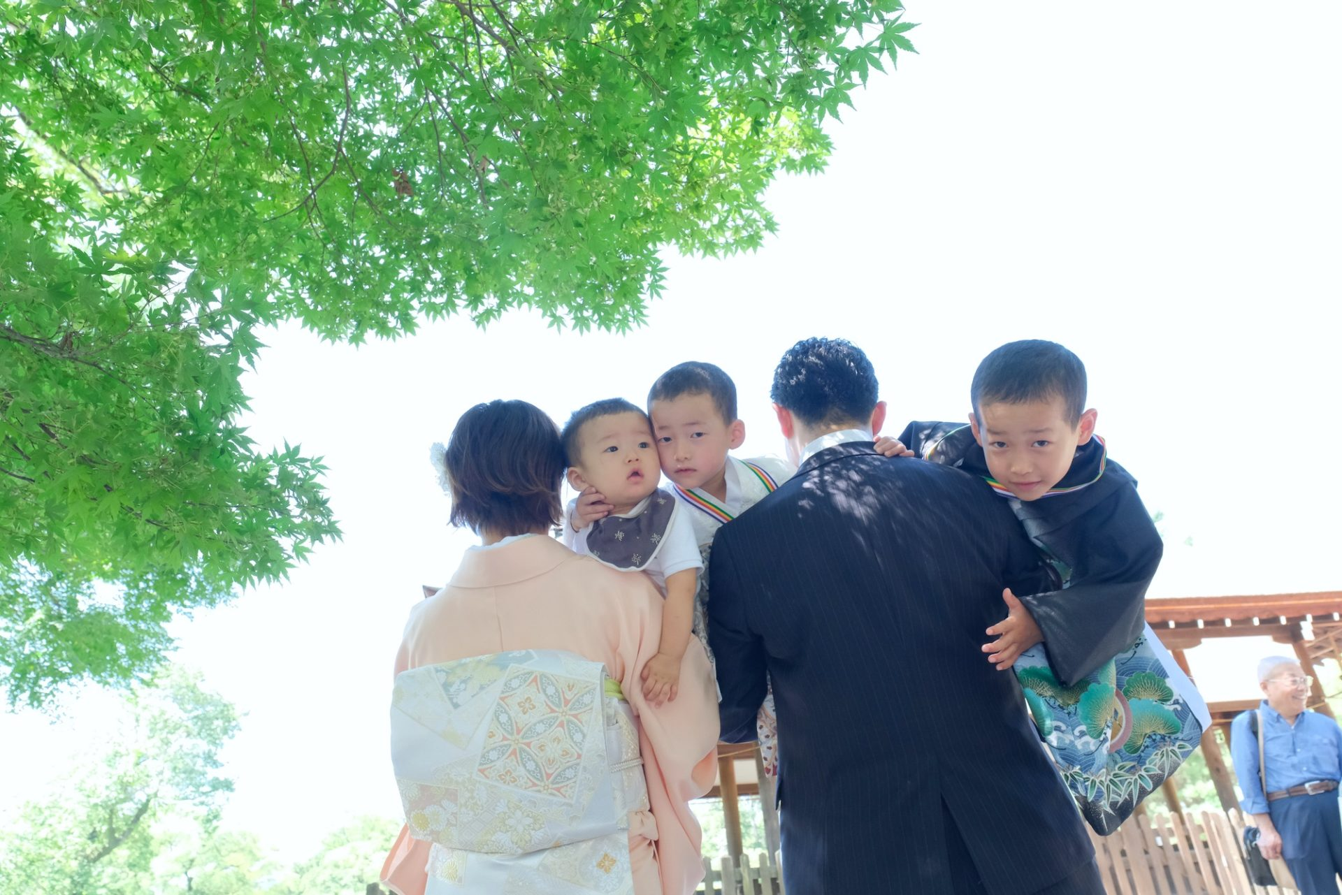 上賀茂神社の七五三