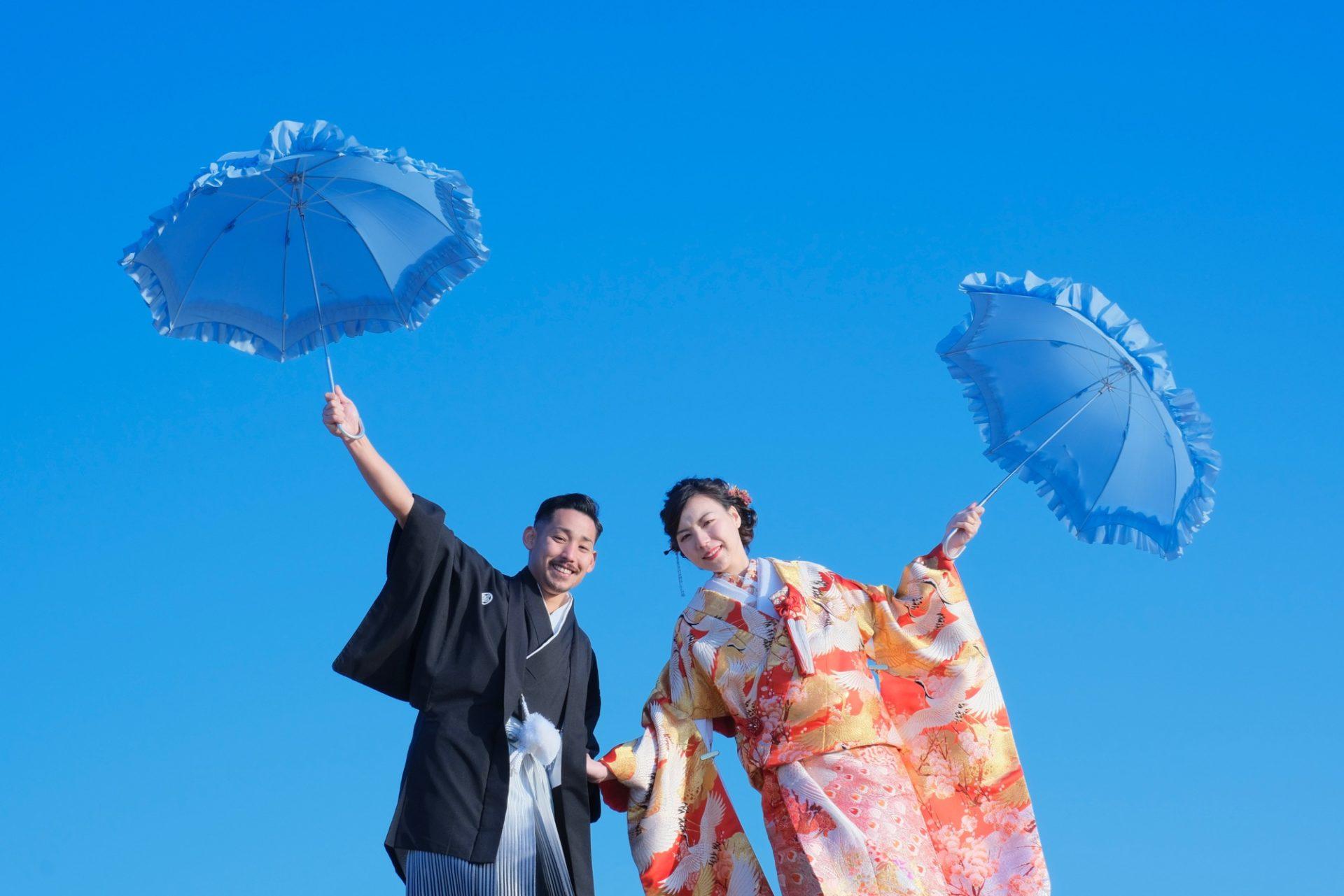 紅葉の奈良公園で和装前撮り