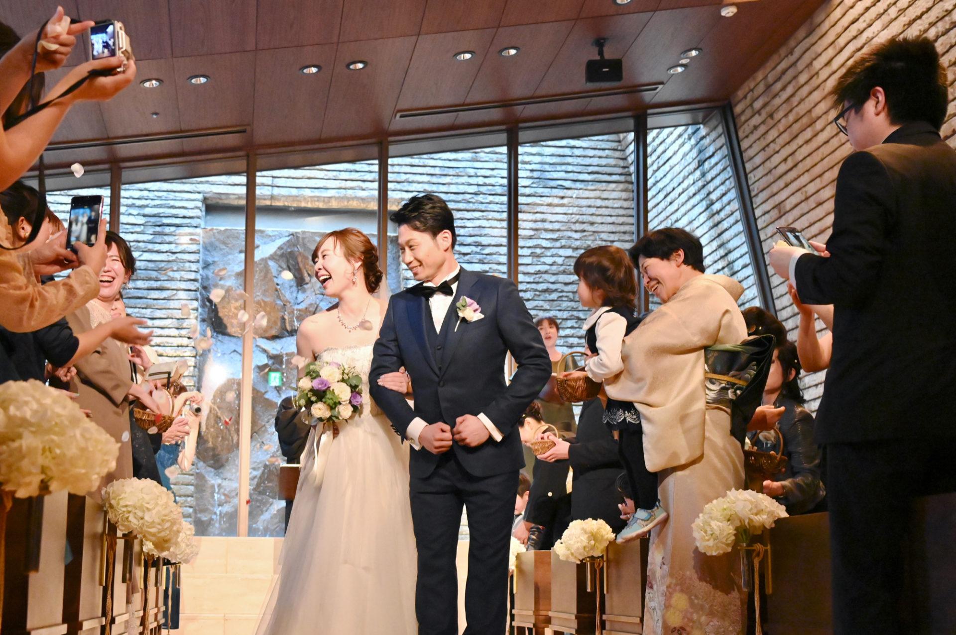 神戸オリエンタルホテル旧居留地で結婚式