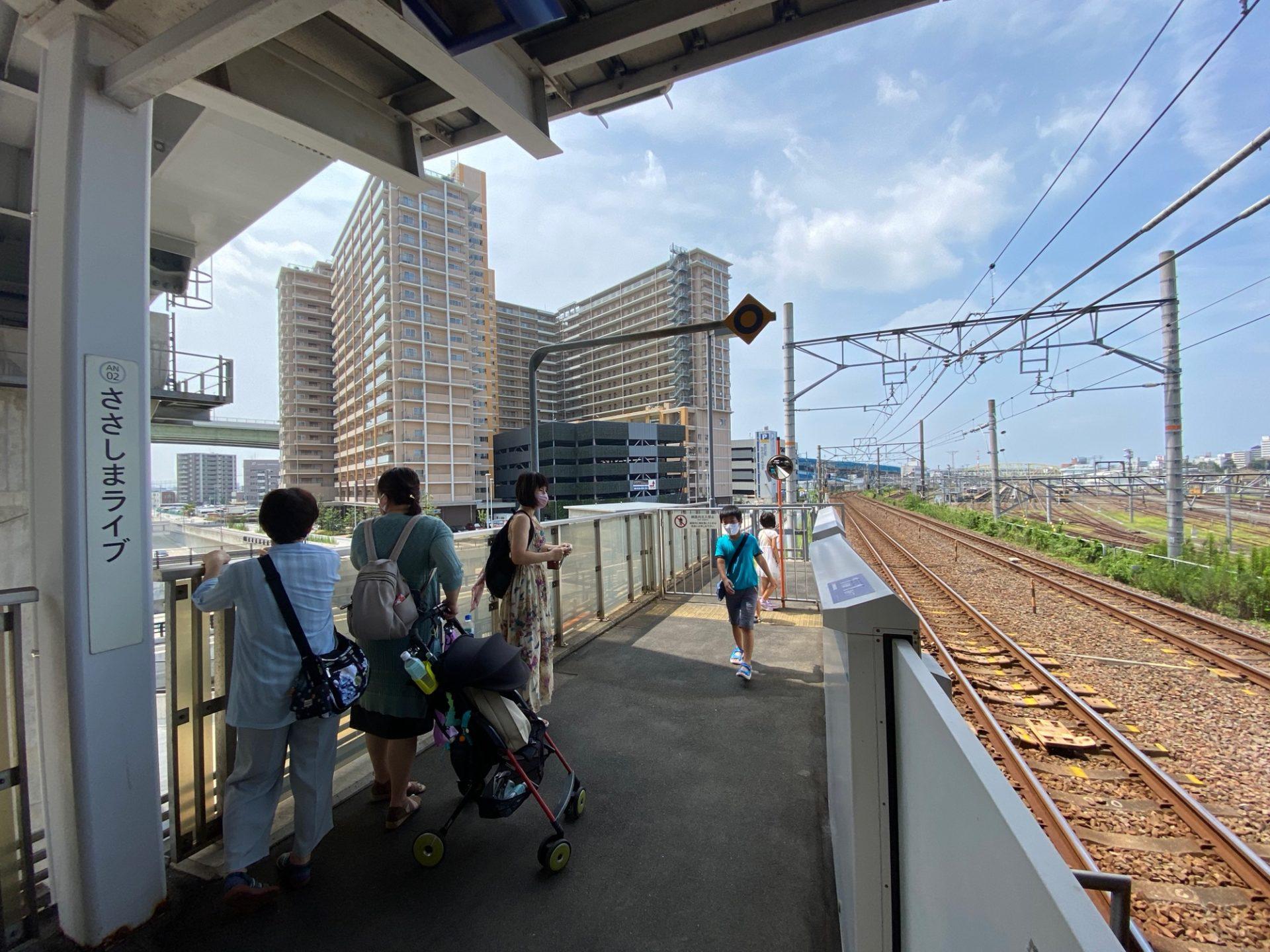 ささしまライブ駅