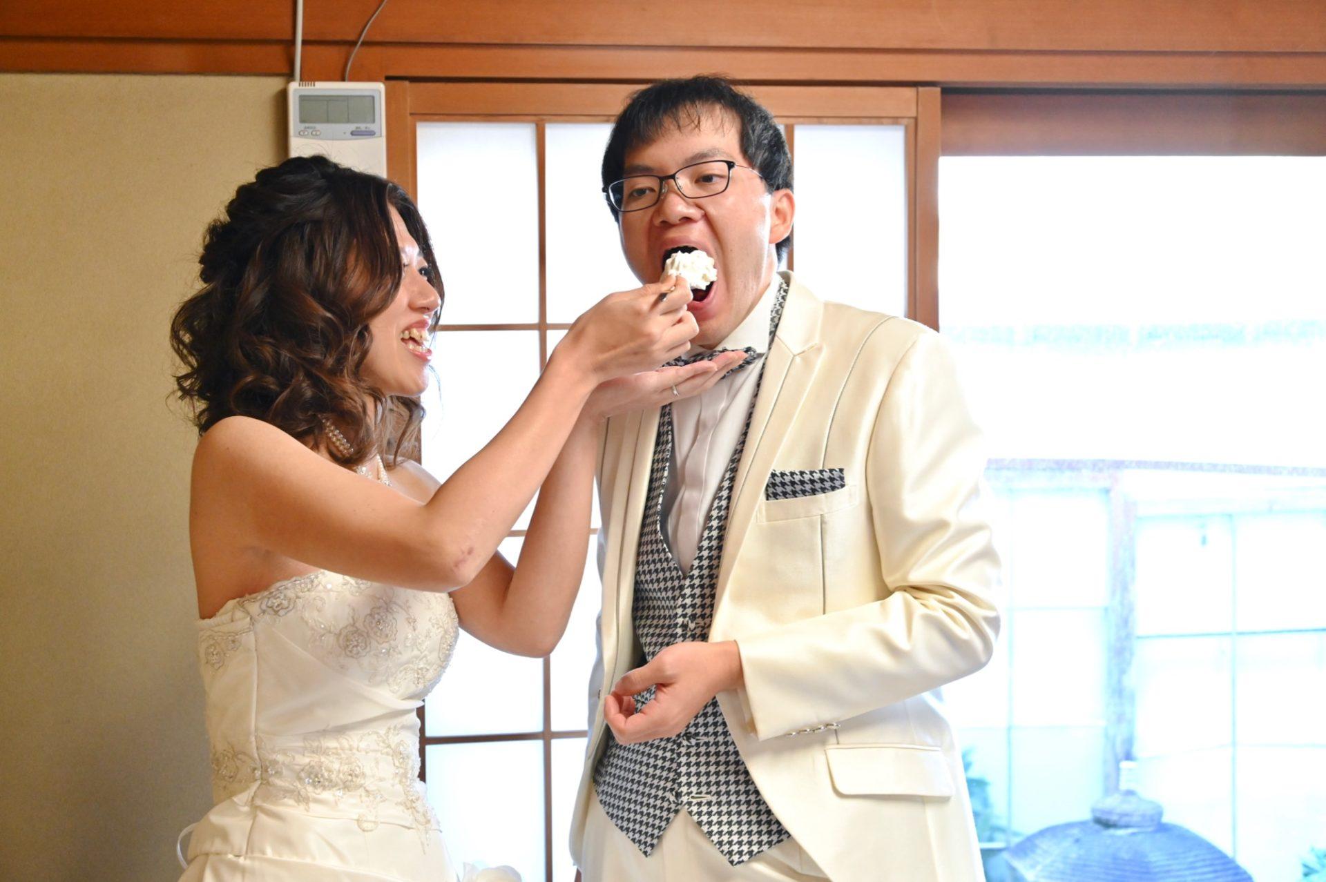 大神神社で結婚式の花嫁さん