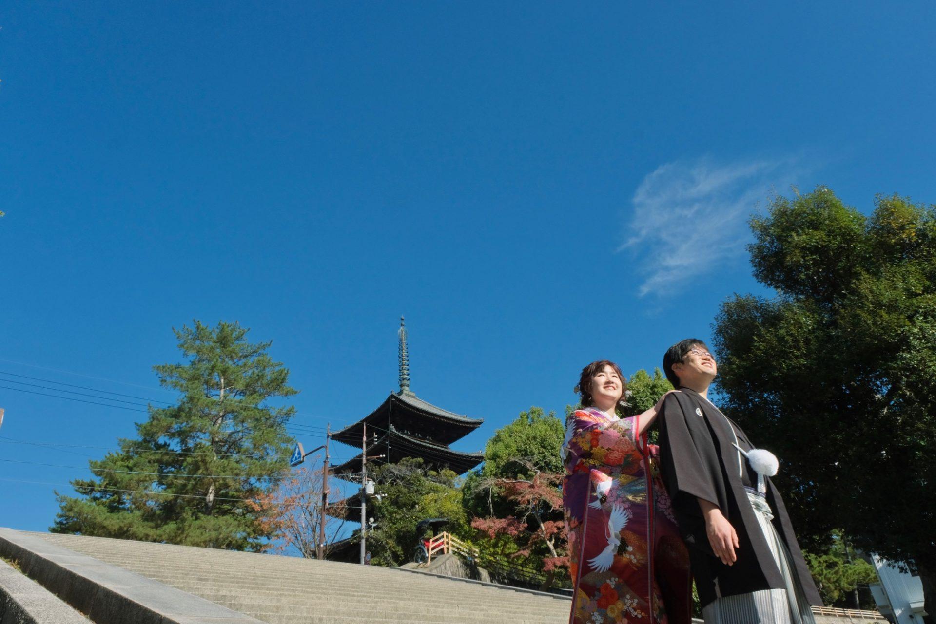 愛知県から和装フォトウエディングの花嫁さん
