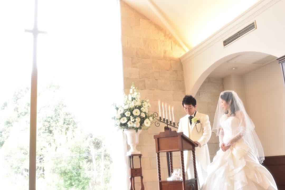 結婚記念のドレス写真